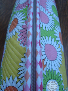 Touch of Spring- cosmetic bag- a zipper