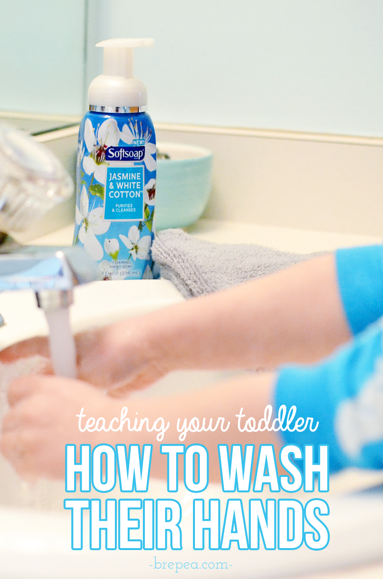 Teaching your toddler/child how to wash their hands