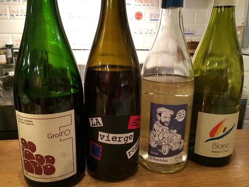 グラスで飲めるワインたち@トロワザムール