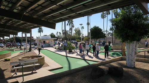 arizona usa sun mountain golf view center minigolf pitch recreation retired putt seniors suncity southernmost city's mountainviewcenter