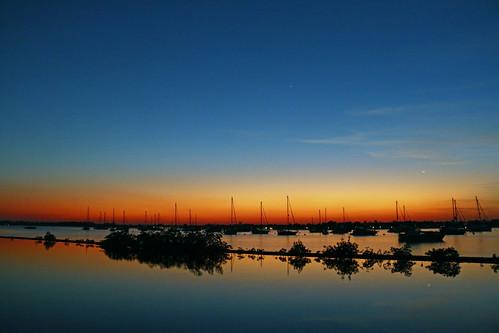 park blue sunset sky sun venus florida bluesky stuart martincounty shepardspark
