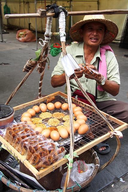 street snack, Bangkok, Thailand