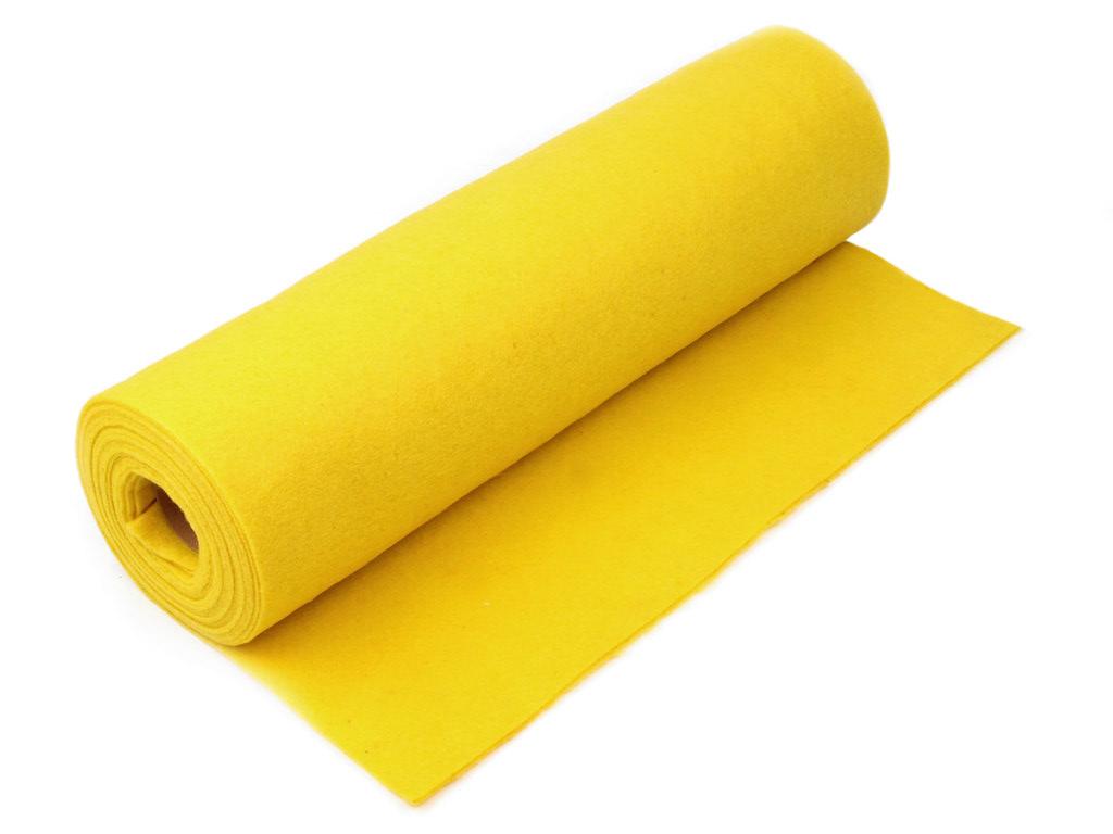 Filz Meterware, gelb
