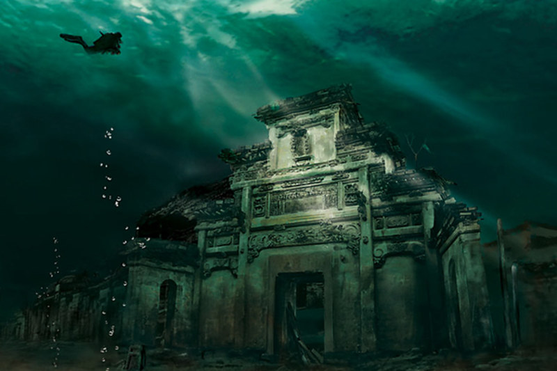Underwater City, Shicheng, China