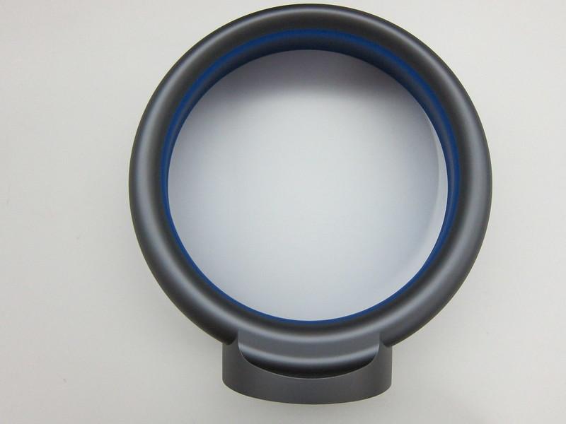 Dyson AM06 Desk Fan 25cm (Iron & Blue) - Loop Amplifier Back