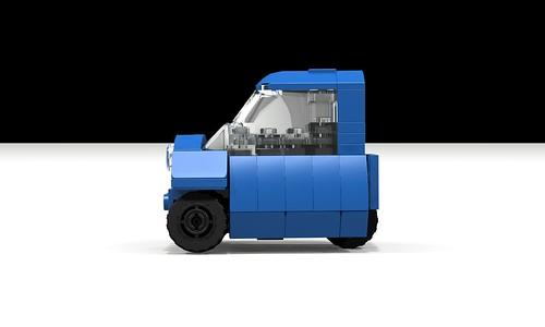 Lego Peel P50 side