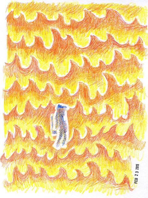 Astronaut - Fire
