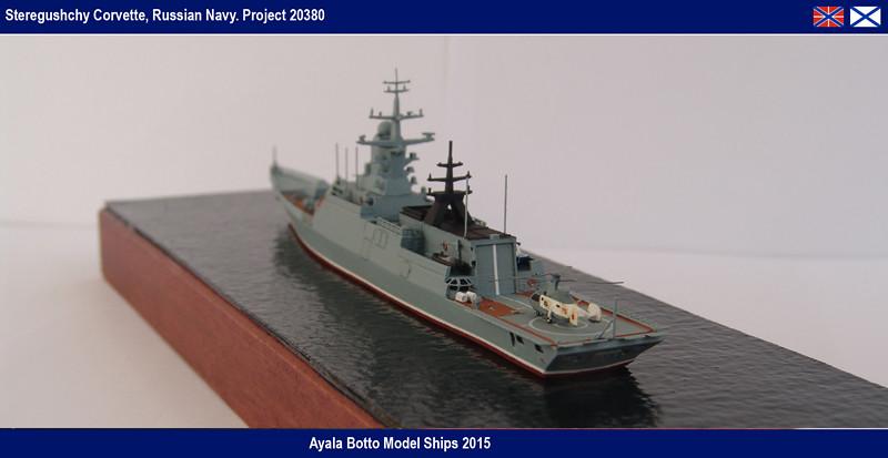 Corvette Russe Steregushchy 530, Project 20380 - Gwylan Models / Combrig 1/700 16623780852_0561b0eee2_b