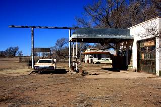 Last Fuel Station in Texas - Glenrio
