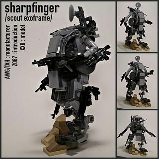 AWG/TAH Sharpfinger Scout Exoframe
