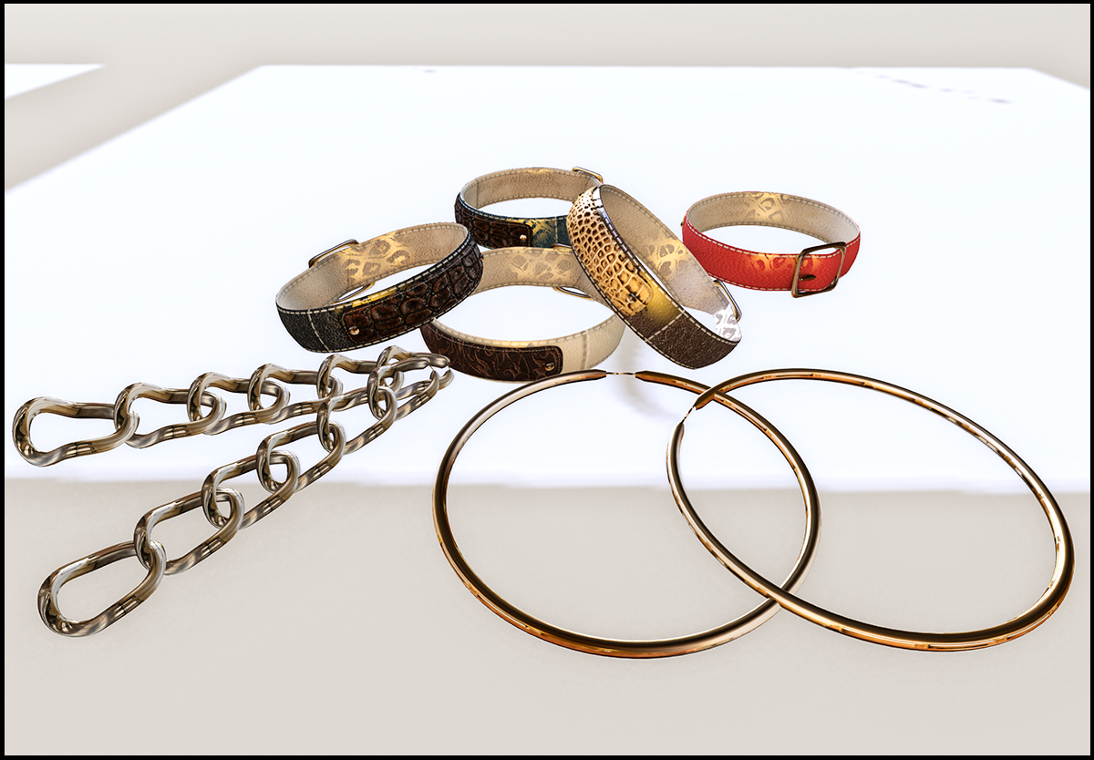New stuff at ChicChica - earings and bangles