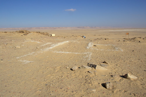 View Across Foundations to the Desert Beyond