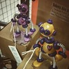 Two new robots in the shop, need a loving and geeky home
