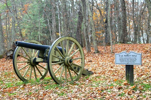 Parrot Gun Droop Mountain Battlefield West Virginia