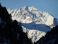 Winterpanorama an der Schweinsfurter Hütte