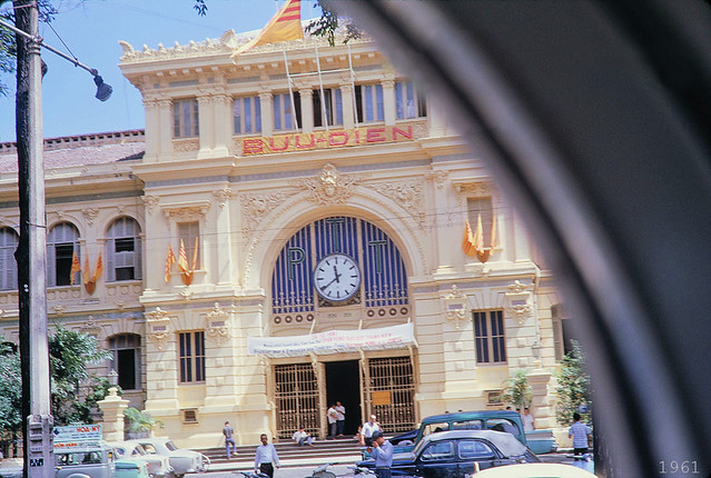SAIGON 1961 - Central Post Office