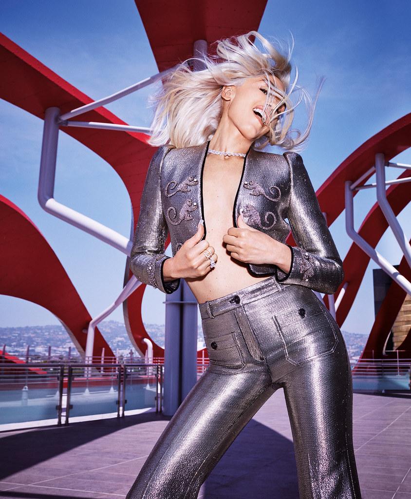 Гвен Стефани — Фотосессия для «Harper's Bazaar» 2016 – 5