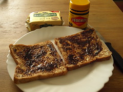"""""""He just smiled and gave me a Vegemite sandwi…"""