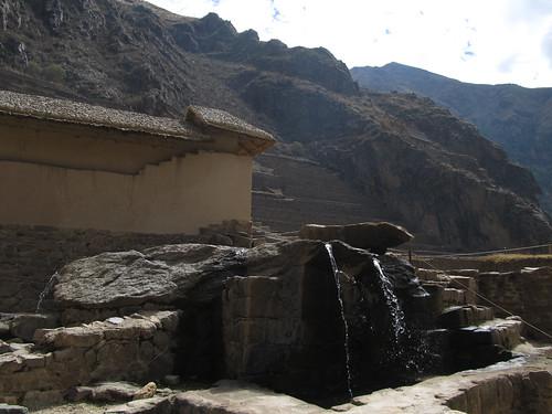 Forteresse de Ollantaytambo: la Fontaine Sacrée