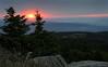 Sonnenuntergang auf dem Brocken