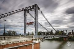 Pont suspendu de Villemur
