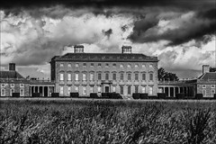 Castletown House in B&W