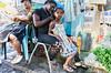 Por el Nuevo Mercado de la Avenida Duarte, Santo Domingo, República Dominicana