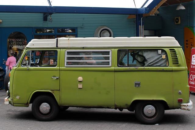 Vancouver Granville Island Van