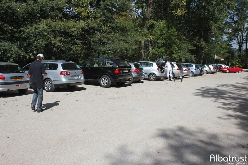 photo du golf Golf De La Manchette - Parking