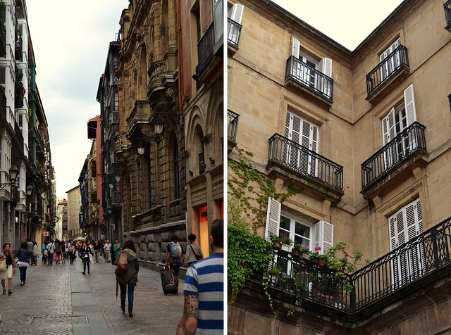 in the streets of bilbao