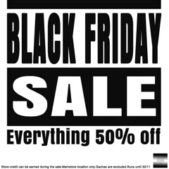 Black Friday at even.flow