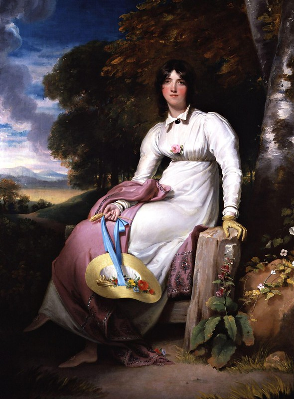 Sir Thomas Lawrence - Sophia, Lady Burdett