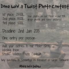 Done wiv a Twist Winter Photo Contest!!