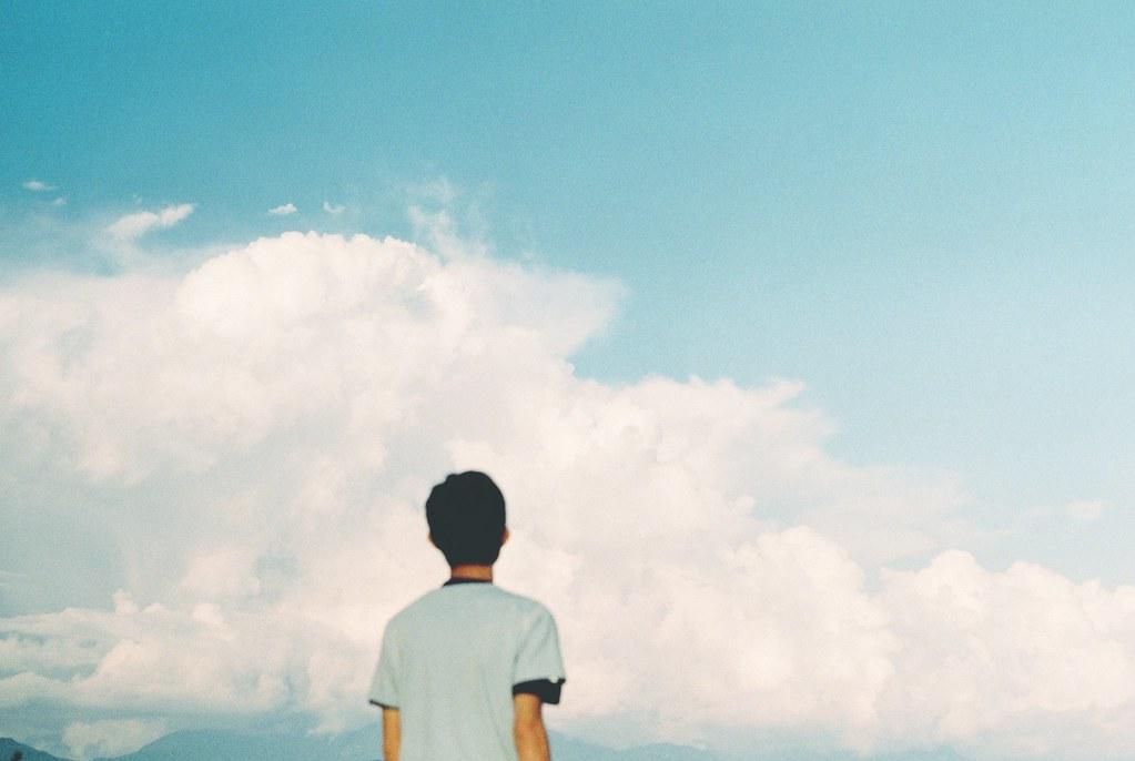 若生命是幅畫 真希望是藍天白雲