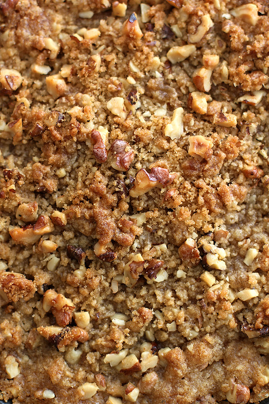 Streusel-Topped Sweet Potato Casserole | girlversusdough.com @stephmwise