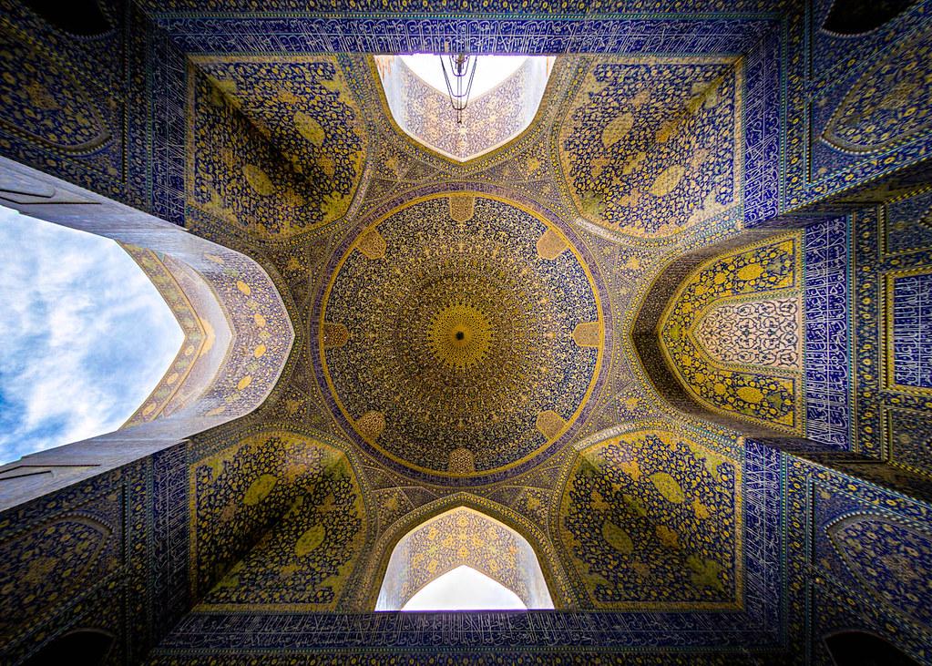 Shah (Emam) mosque, photo by Mohammad Reza Domiri Ganji
