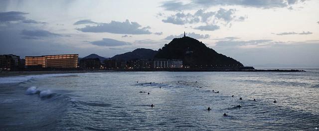 Learn Spanish and Surf San Sebastian Spain