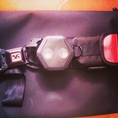A perfect urban weapon the @@boombotix on my @@chrome_ind citizen #urbanproof #kikasses #chrome #boombotix #rex #cycling