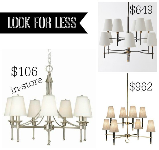 Hi Sugarplum | Look for Less Chandeliers