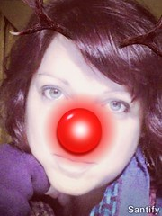 Laura The Red Nose Reindeer
