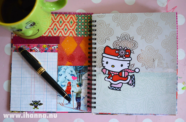 December Journal: Hello Ice Skater Kitty