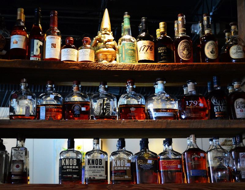 The Whiskey Line Up At Toast