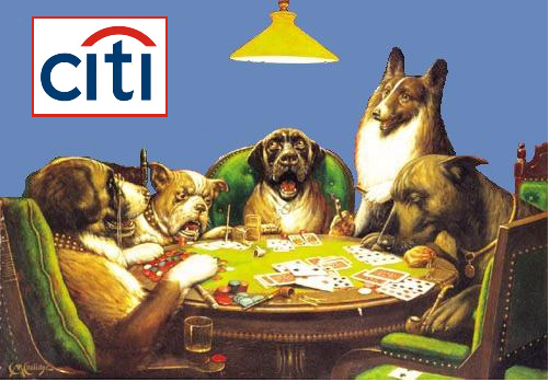 Congress: Taxpayers Will Cover Citigroup's Bad Bets