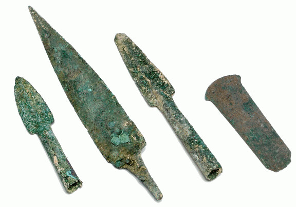 Bronze weapons from Mesopotamia
