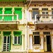 Peranakan houses by Luke,Ma