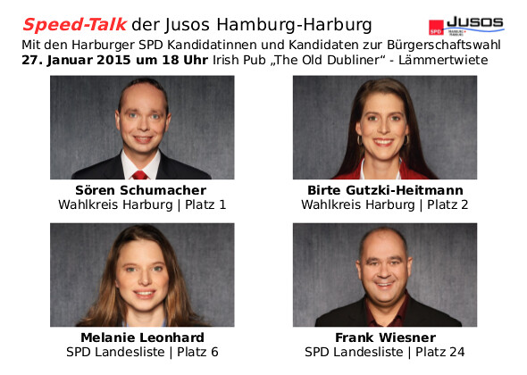 Speed-Talk Harburg 2015