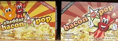 Cheddar & Bacon and Bacon Flavored Microwave Popcorn