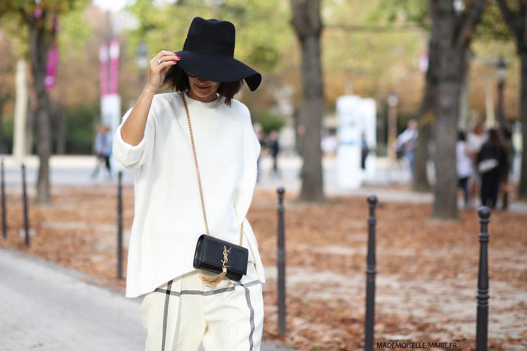 Golestaneh at Paris fashion week