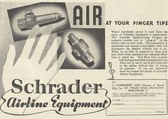 Schrader Airline Equipment Advert 2