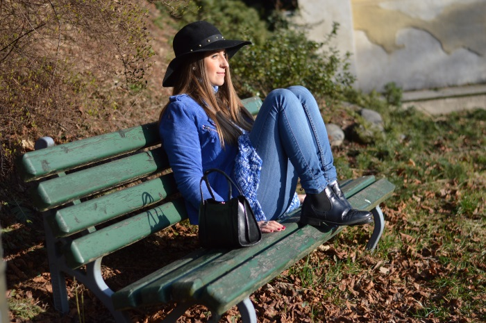 hat, blu elettrico, spring, wildflower girl, fashion, fashion blog (8)